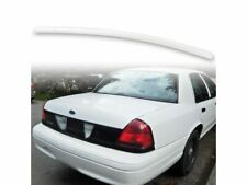 Fyralip Painted Trunk Lip Spoiler For Ford Crown Victoria 98-12 M6640 White