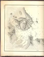 C.Maritime MANTCHOURIE Baie Olga, Dépôt des cartes et plans de la Marine 1870