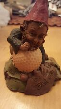 Tom Clark Gnome Win 1986 Signed and Dated with Coa Ed.13 Cairn Studio Golf Ball