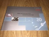 Audi Service Book brand new not duplicate all models covered petrol and diesel--