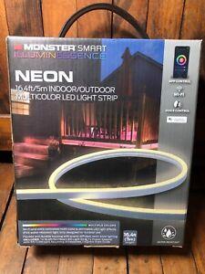 Monster NEON LED Light Strip Smart Indoor/Outdoor MultiColor 5m 16.4ft