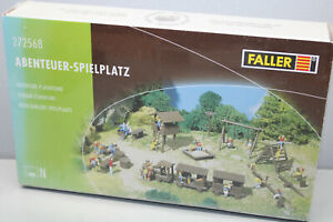 FALLER 272568 Kit Adventure Playground N Gauge Boxed