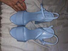 ALDO Kandie Baby Blue Platform Heels Size 7