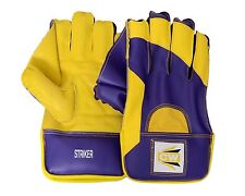 """Cw """"Striker"""" Cricket Wicket Keeping Gloves for Amateur Players High Quality Pvc"""