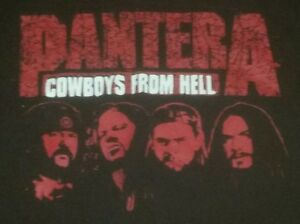 Pantera Cowboys From Hell Respect Walk are you talking to me concert t shirt XL