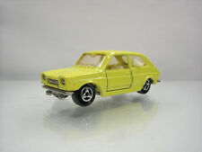 Diecast Majorette Fiat 127 No. 203 in Yellow Very Good Condition