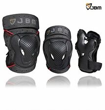 JBM Kids Child BMX Bike Knee Elbow Pad Wrist Guard Protective Gear Skate Cycling