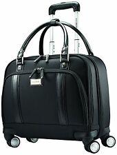 OpenBox Samsonite Luggage Womens Spinner Mobile Office, Black, One Size