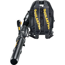 2-Cycle 46cc  Powerful Outdoor Manual Heavy-Duty Gas Backpack Leaf Blower Black