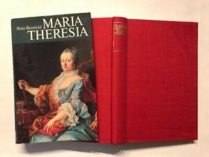 Buch, Peter Reinhold, Maria Theresia, Societäts-Verlag 1979