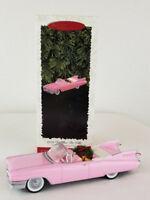 Hallmark Keepsake Ornament 1959 Cadillac De Ville Collectors 1996 Series #6 Pink