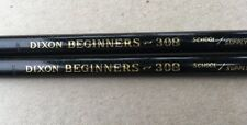 2 Each, Vintage Dixon pencil Beginners 308, Extra Large Graphite Core, Non Toxic