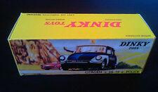 Boite Dinky Toys 501 DS 19 POLICE boite repro reprobox