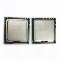 2pcs Intel Xeon X5690 3.46GHz SLBVX 12MB 6-Core LGA1366 Matching Pair Processor