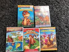 Lot of 5 Children's DVD's, IThe Land Before Time
