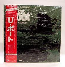 Das Boot ~ LP Soundtrack 1981 Japan w/OBI WEA P-11172 In Cellophane