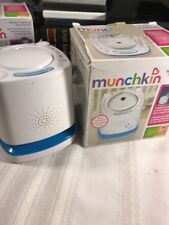 Nursery Projector and Sound System, White. Voice Activated. 2014. Munchkin