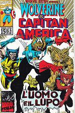 Marvel Extra N°15 -Wolverine & Capitan America