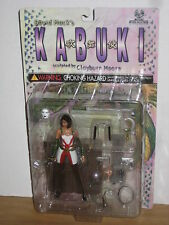 Moore Action Collectibles Kabuki Action Figure SIGNED by David Mack! MOC MOSC