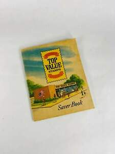 Authentic S&H Green Stamps Saver booklet. Complete with stamps by Top Saver circ