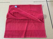 ASCIUGAMANO Multiuso in puro Cotone - colore ROSSO dim. 100x50 cm