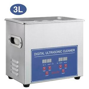Ultraschallreiniger 3L Ultraschallreinigungsgerät Edelstahl Ultrasonic Cleaner