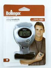 New Bollinger Stopwatch - Classic Modes Stopwatch Clock Alarm Digital Ergo Grip