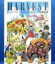 Harvest Fairy Tail Illustrations II Hiro Mashima Works /Japanese Anime Art Book