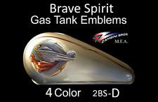 Indian Motorcycle, Drifter, Harley Gas Tank Emblem Brave Spirit Zambini Bros MFA