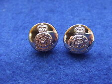 A PAIR, ARMY CATERING CORPS GOLD 14MM MILITARY CAP/ BLAZER SLEEVE BUTTONS