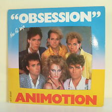 "MAXI 45T ANIMOTION Disque Vinyl 12"" OBSESSION New Re-mix MERCURY 880266-1"