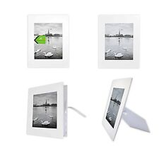 Pack of 10 White 8x10 Self-assemble Photo Mat for 5x7 picture