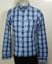 Hollister button down plaid shirt medium