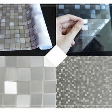 PVC Glass Film for Windows Shower Room Bathroom Shading Sun Protection Privacy