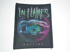 IN FLAMES BATTLES WOVEN PATCH