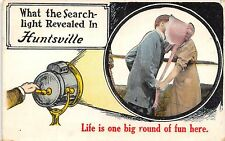"""Life is One Big Round of Fun Here"" in Huntsville IL~Searchlight~Sunbonnet~1914"