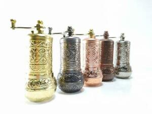 Traditional Turkish Pepper Salt Coffee Spice Grinder Mill 4.3 inch UK stock