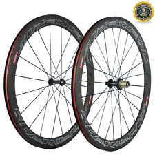 Toray T700 Carbon  Wheels 50MM Clincher Superteam Wheelset Basalt Brake Surface