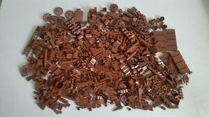 Lego Sonderteile Bauteile Kleinteile Reddish Braun Konvolut