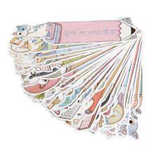 30Pcs Cartoon Kitten Cat Paper Bookmark Note Memo Stationery Collection Souvenir