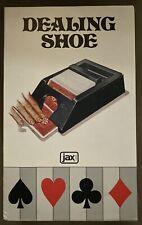 Dealing Shoe Professional Type 4 Jax Card Games Vintage 1991 Nos Usa