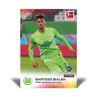 2020 TOPPS NOW Bundesliga Bartosz Bialek #48 VFL Wolfsburg RC Rookie PR /640!