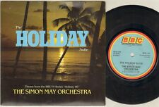 "SIMON MAY ORCHESTRA The Holiday Suite  7"" Ps, B/W Holiday Tracks, Resl 181"