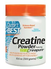 Creatine Powder Featuring Creapure Doctors Best 10.6 oz (300 grams) Powder