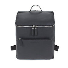 MANDARINA DUCK Women's Backpack MD CLASS CLT01003 Charcoal color Cow Leather