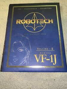 Robotech Masterpiece Collection Vol 5 Miriya VF-1J Box , Macross