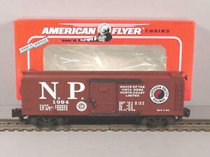 American Flyer 6-48485 S Scale Northern Pacific NASG Boxcar LN/Box