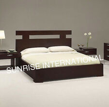NEW Wooden Indian Queen Size Double Bed with storage under the mattress !!