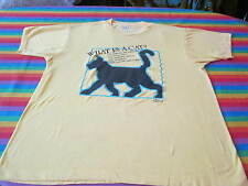 vintage 80S TEE SHIRT WHAT IS A CAT? SCREEN STARS TAG SOFT KITTY CAT XL
