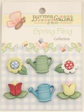 "Buttons Galore & More - Spring Fling Collection ""Garden Treasures"" SF103"